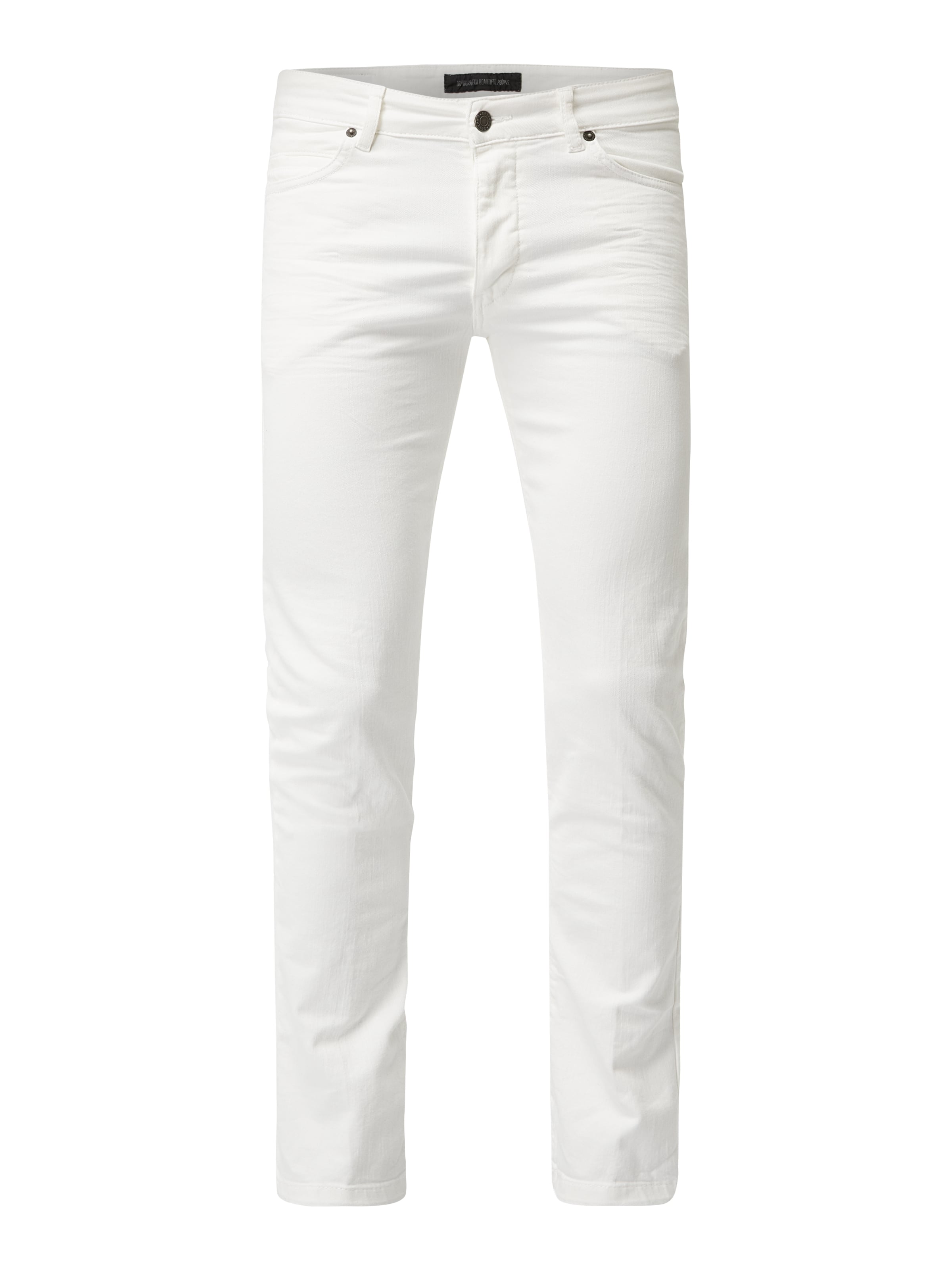 dbe84fbb5bba Drykorn - Coloured Skinny Fit Jeans - Weiß