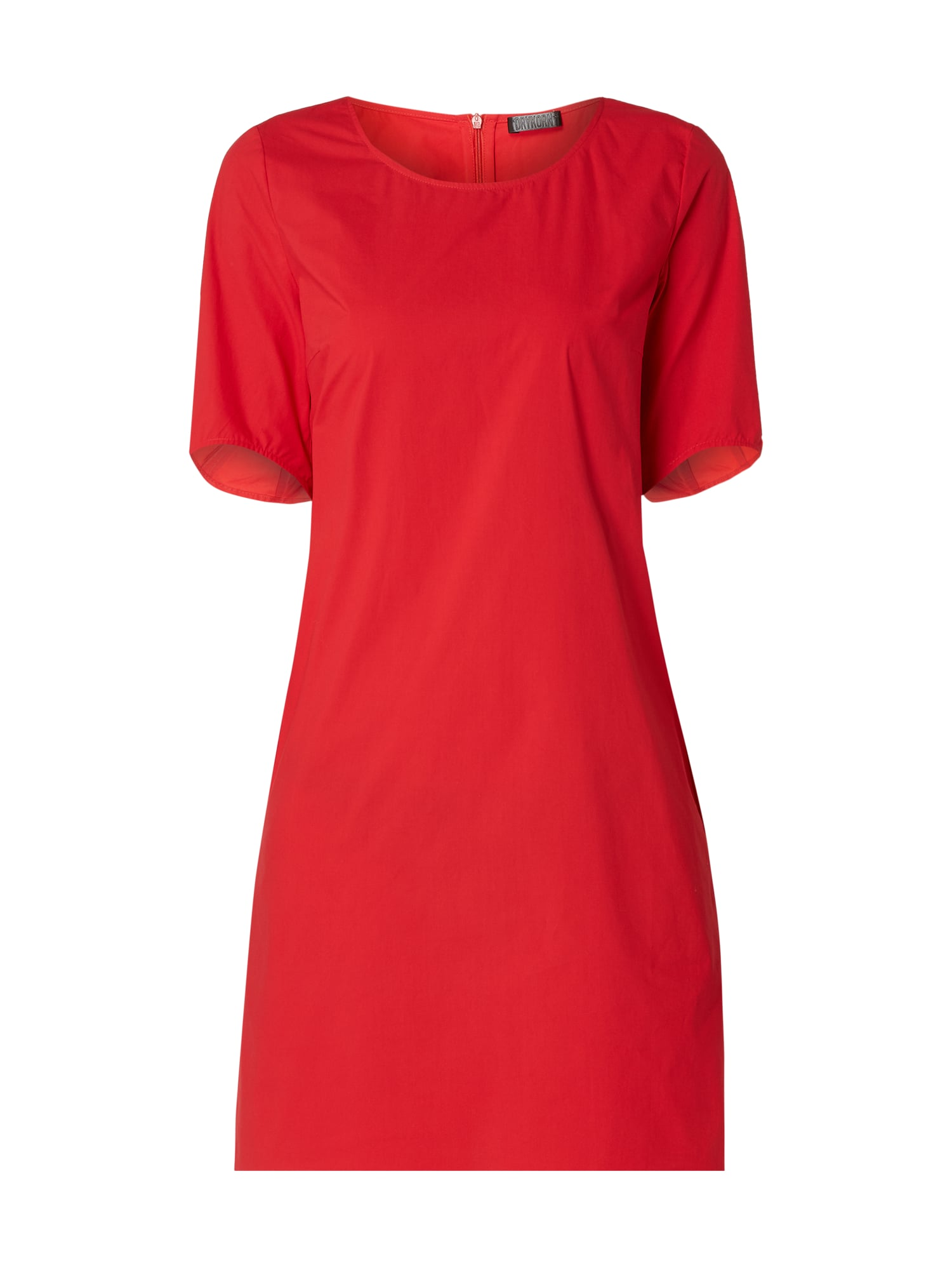 rot one arm kleid discount cb949 f3fde