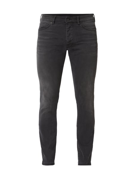 Drykorn Light Stone Washed Skinny Fit Jeans Grau / Schwarz - 1