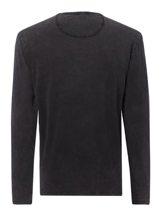 Drykorn Longsleeve im Washed Out Look Anthrazit - 1