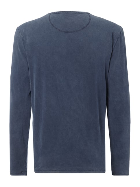 Drykorn Longsleeve im Washed Out Look Blau - 1