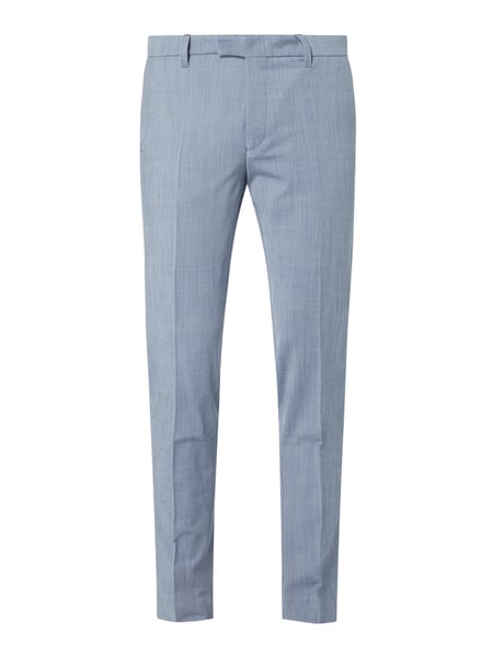 Drykorn Pantalon met stretch, model 'Piet' - 'Drynamic' Blauw - 1