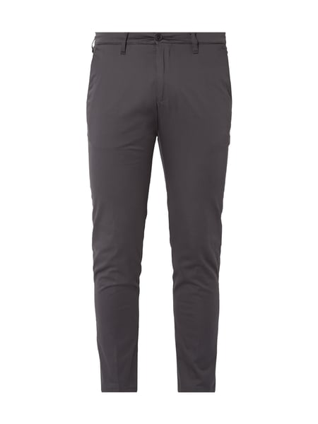 Drykorn Hoop_2 - Regular Fit Chino mit Stretch-Anteil Anthrazit