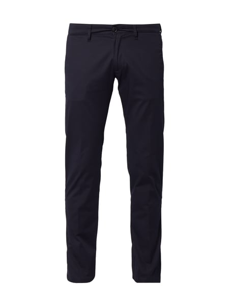 Drykorn Hoop_2 - Regular Fit Chino mit Stretch-Anteil Marineblau