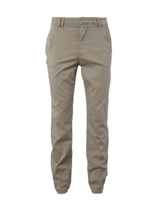 Relaxed Fit Jogpants mit Stretch-Anteil Weiß - 1