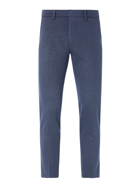 Drykorn Slim Fit Anzughose mit Stretch-Anteil Modell 'Sight' Blau - 1