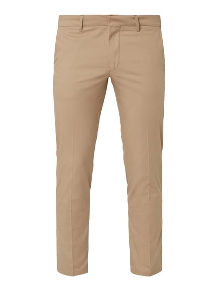 Drykorn Slim Fit Chino mit Stretch-Anteil Weiß - 1