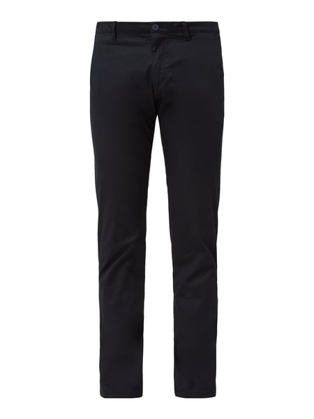 Drykorn Slim Fit Chino mit Stretch-Anteil Blau - 1