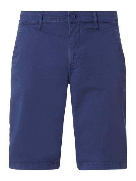 Drykorn Brink - Slim Fit Chinoshorts mit Stretch-Anteil Marineblau
