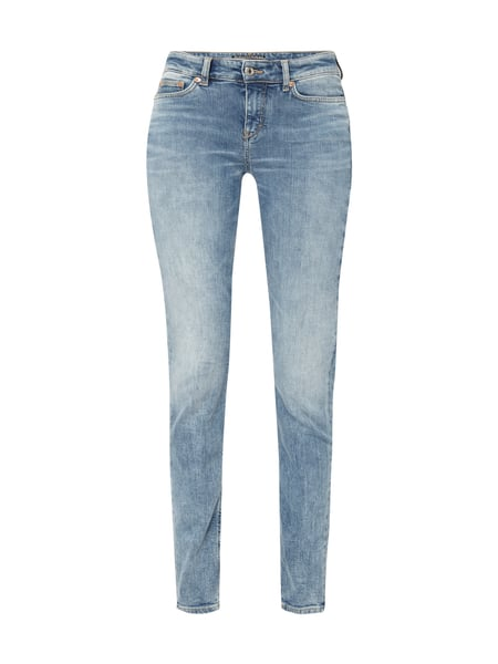 Drykorn Stone Washed Skinny Fit Jeans Bleu meliert