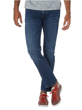 Drykorn Stone Washed Slim Fit Jeans Marineblau - 1