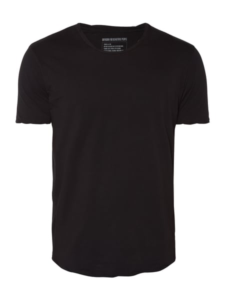 Drykorn Marius - T-Shirt im Washed Out Look Anthrazit