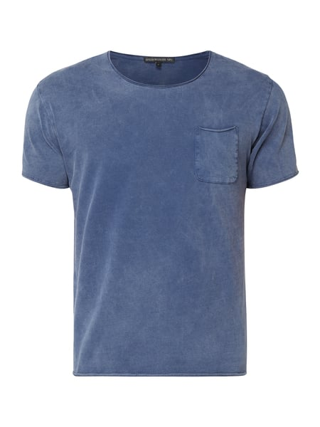 Drykorn T-Shirt im Washed Out Look Blau / Türkis - 1