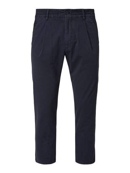 Drykorn Tapered Fit Jogpants mit Bundfalten Blau / Türkis - 1