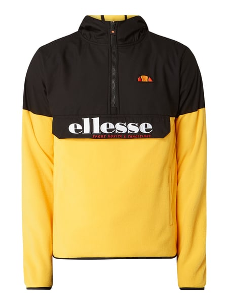 Ellesse Fleecejacke in Schlupfform Gelb - 1