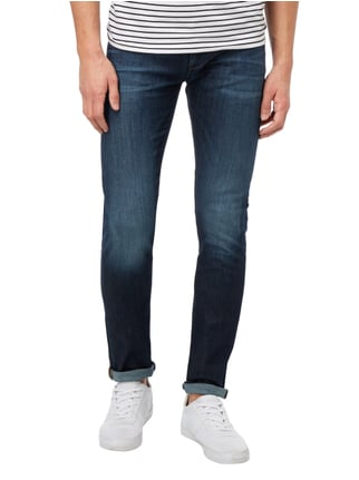 Armani Collezioni Stone Washed Slim Fit 5-Pocket-Jeans Jeans - 1