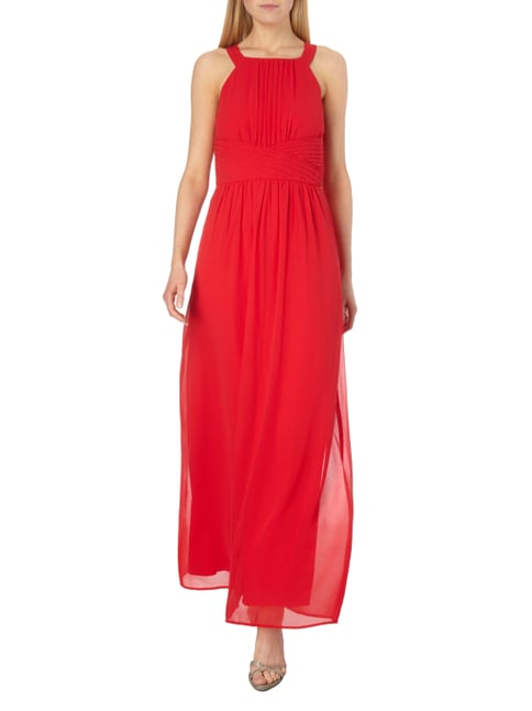 Esprit Collection Abendkleid aus Chiffon in Rot - 1