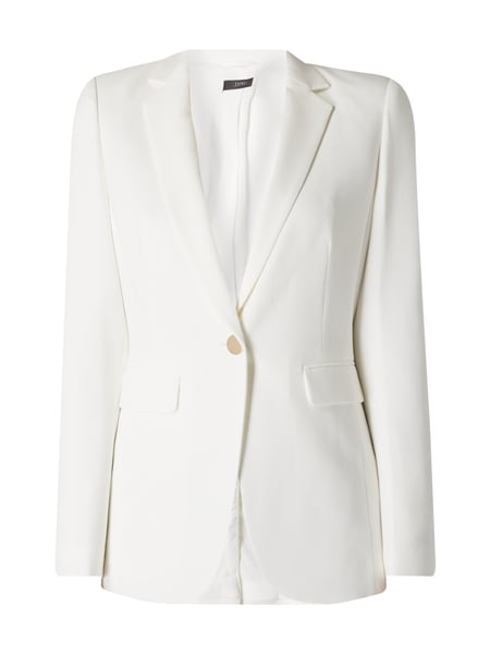 Esprit Collection Blazer mit 1-Knopf-Verschluss in Goldoptik Offwhite