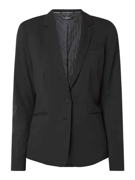 Esprit Collection Blazer mit Handstichkanten Schwarz - 1