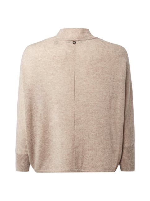 Esprit Collection Cardigan aus Woll-Kaschmir-Mix Taupe meliert - 1