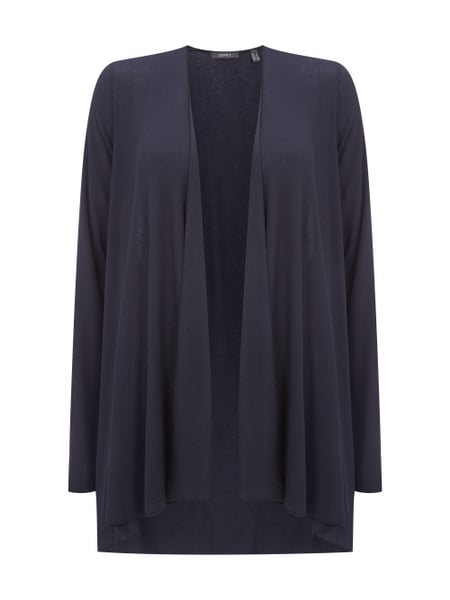 Esprit Collection Cardigan mit offener Vorderseite Blau - 1