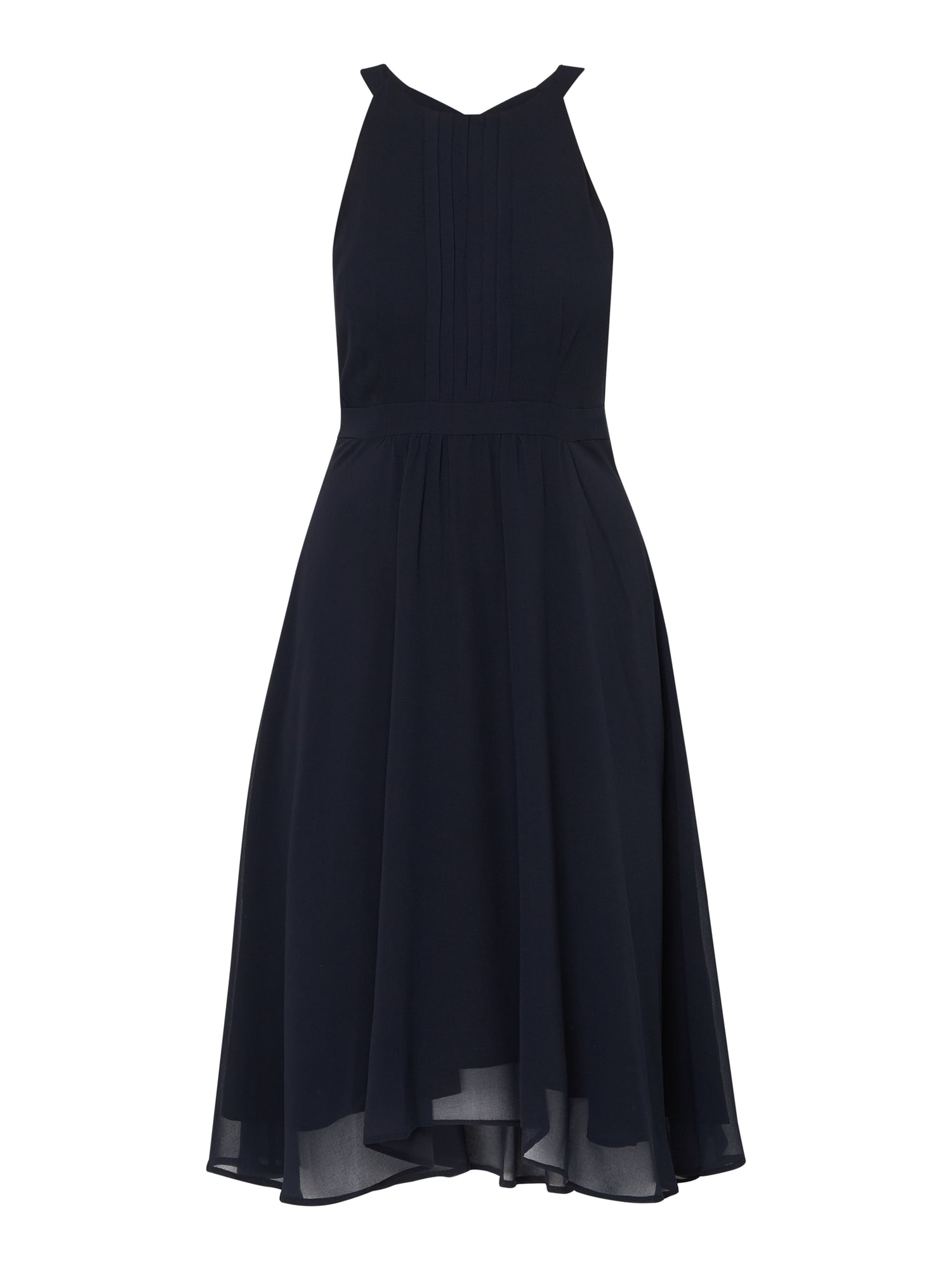 ESPRIT COLLECTION Cocktailkleid aus Chiffon mit Biesen in Blau / Türkis  online kaufen (17) ▷ P&C Online Shop