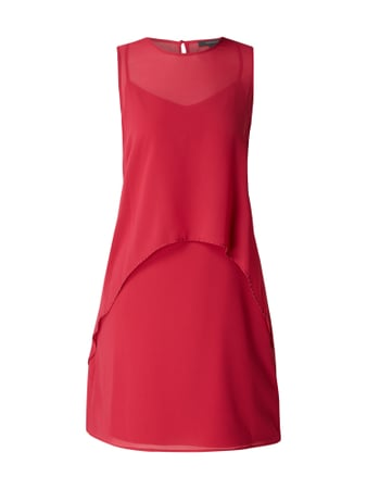Esprit Collection Cocktailkleid im Double Layer Look Rosé - 1