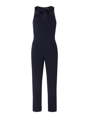 Esprit Collection Jumpsuit mit Cut Out Blau - 1