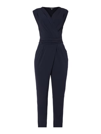 Esprit Collection Jumpsuit mit Taillenband Blau / Türkis - 1