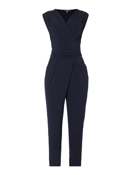 Esprit Collection Jumpsuit mit Taillenband Blau - 1