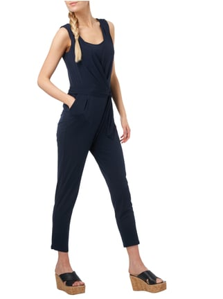 Esprit Collection Jumpsuit mit Taillengürtel in Blau / Türkis - 1