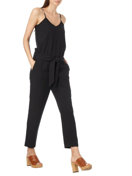 esprit collection jumpsuit mit verstellbaren spaghettitr gern in grau schwarz online kaufen. Black Bedroom Furniture Sets. Home Design Ideas