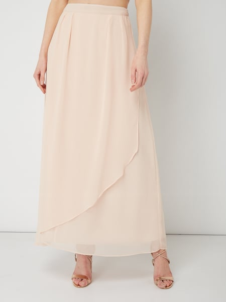 678afb862791 Esprit Collection – Maxirock aus Chiffon im Double Layer Look – Rosa