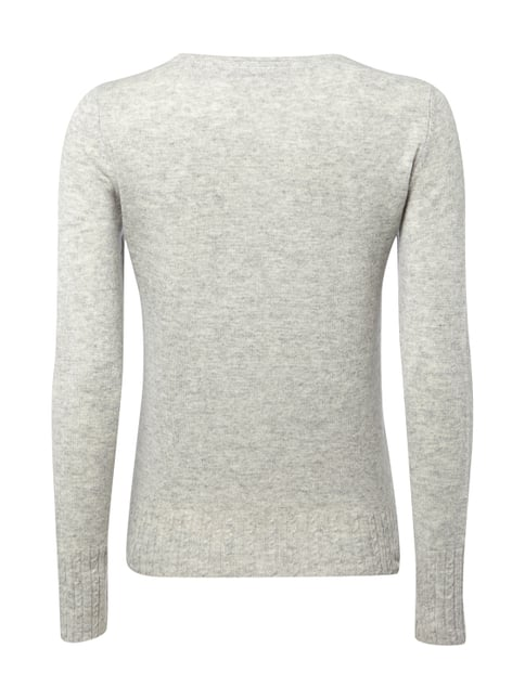 Esprit Collection Pullover aus Woll-Kaschmir-Mix Hellgrau - 1