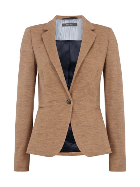 ... Collection online kaufen - 1. Esprit Collection Slim Fit Blazer in  Melangeoptik Braun - 1 2b285f5724