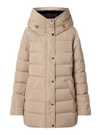 Esprit Collection Steppjacke mit Kapuze Beige - 1