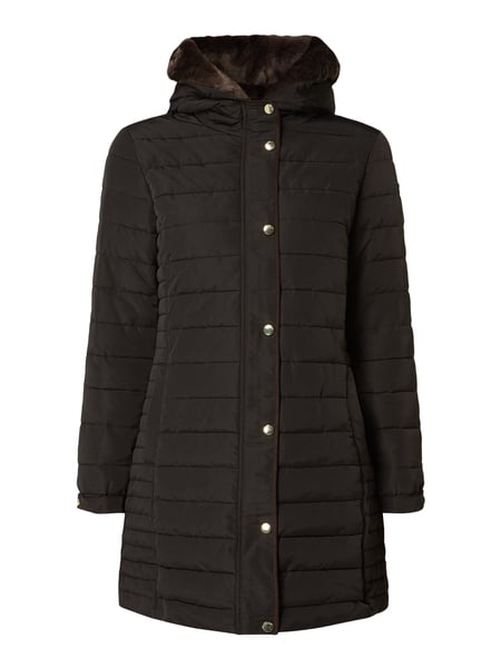 Esprit Collection Steppjacke mit Kapuze - wattiert Schwarz - 1