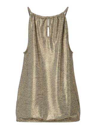 Esprit Collection Top in Metallicoptik Gold - 1