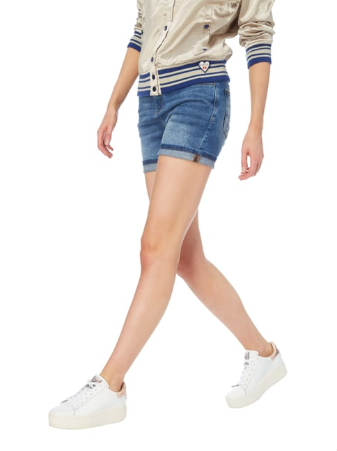 Esprit Jeansshorts im Used Look Jeans - 1