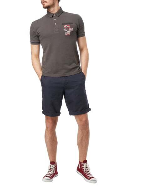 esprit relaxed fit shorts mit leinen anteil in blau t rkis online kaufen 9657864 p c online. Black Bedroom Furniture Sets. Home Design Ideas