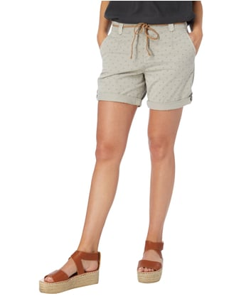 Esprit Shorts mit Allover-Muster Silber - 1
