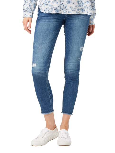 Esprit Skinny Fit Jeans im Destroyed Look Jeans - 1