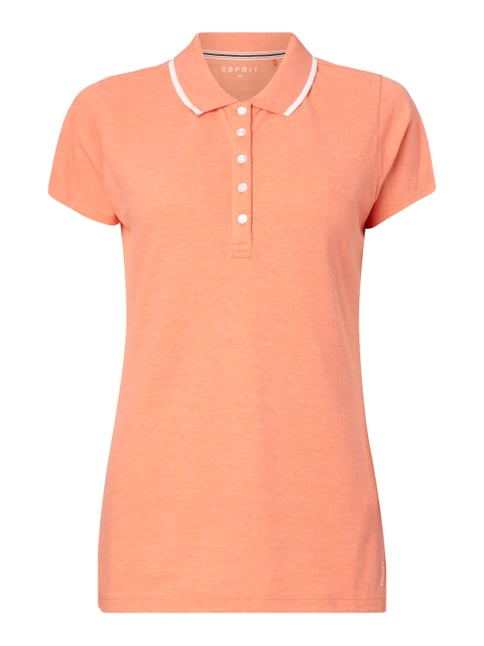 Poloshirt aus Piqué Orange - 1