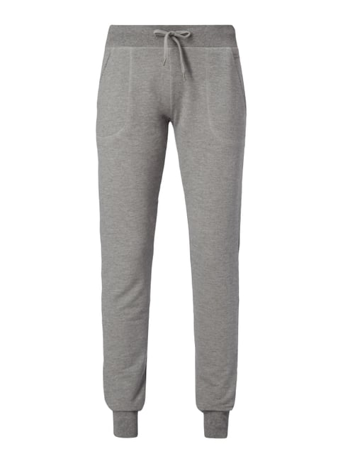Sweatpants im Washed Out Look Grau / Schwarz - 1
