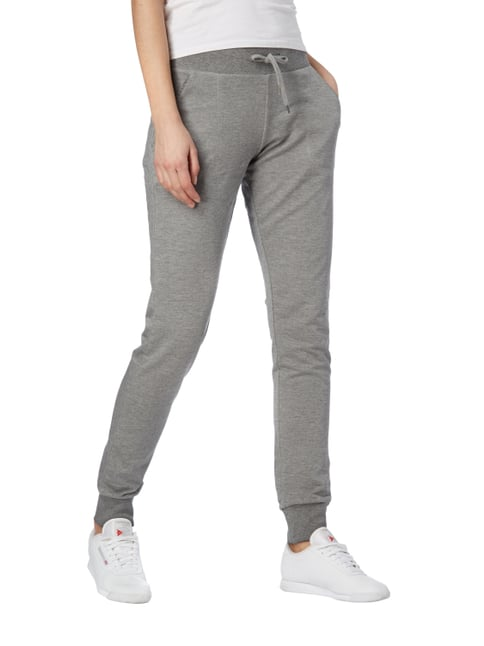 Esprit Sport Sweatpants im Washed Out Look Mittelgrau meliert - 1