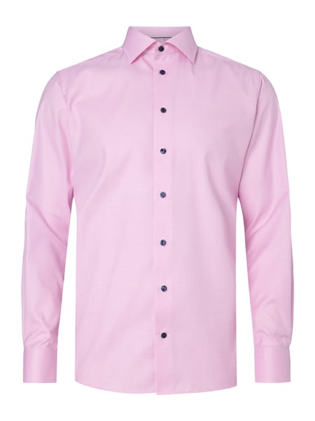 fa44c66fa83c9d ETON Contemporary Fit Business-Hemd mit Pepitamuster in Rosé online ...