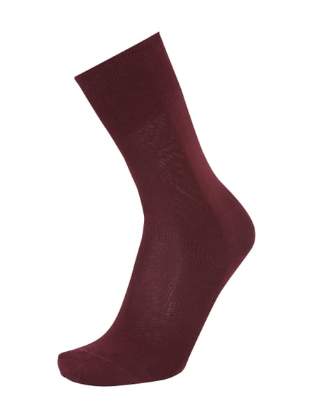Falke Business-Socken mit Splitting-Sohle Rot - 1