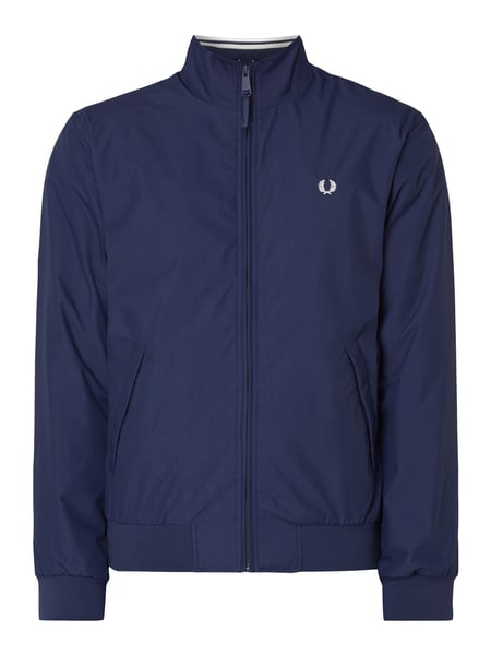 Fred Perry Blouson mit Logo-Stickerei Blau - 1