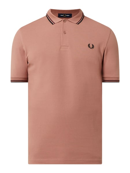 Fred Perry Poloshirt aus Baumwolle Rosa - 1