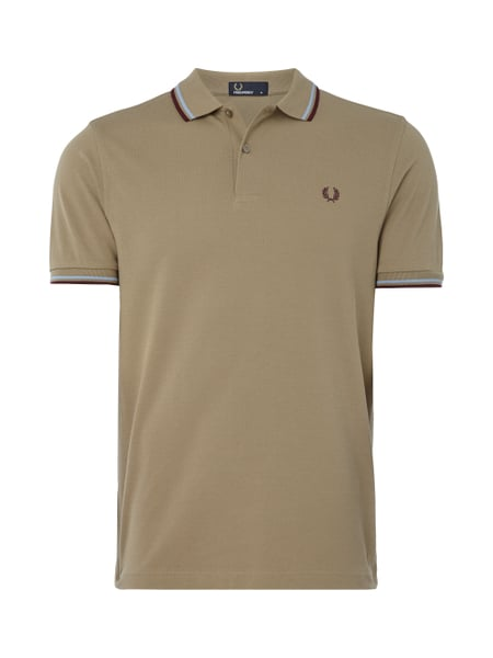 Fred Perry Twin Tipped - Poloshirt mit Logo-Stickerei Kitt